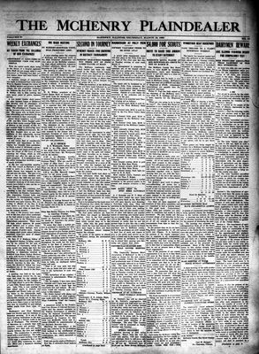 McHenry Plaindealer (McHenry, IL), 12 Mar 1925