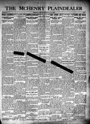McHenry Plaindealer (McHenry, IL), 9 Jul 1925
