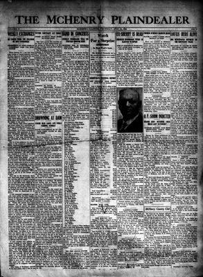McHenry Plaindealer (McHenry, IL), 16 Jul 1925