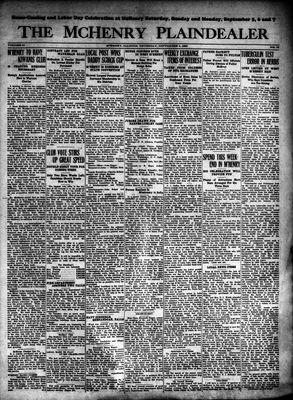 McHenry Plaindealer (McHenry, IL), 3 Sep 1925