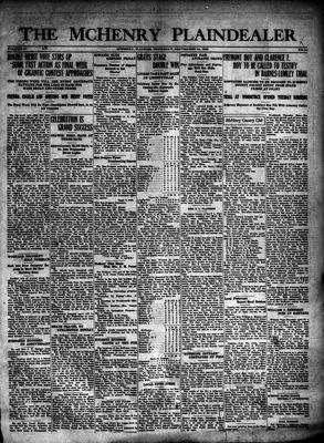 McHenry Plaindealer (McHenry, IL), 10 Sep 1925