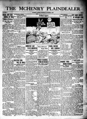 McHenry Plaindealer (McHenry, IL), 22 Oct 1925