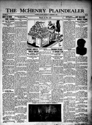 McHenry Plaindealer (McHenry, IL), 3 Dec 1925