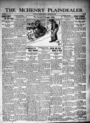 McHenry Plaindealer (McHenry, IL), 10 Dec 1925