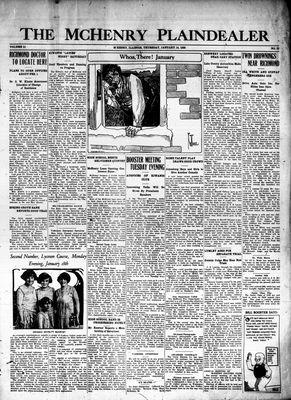 McHenry Plaindealer (McHenry, IL), 14 Jan 1926