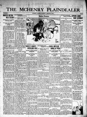 McHenry Plaindealer (McHenry, IL), 21 Jan 1926