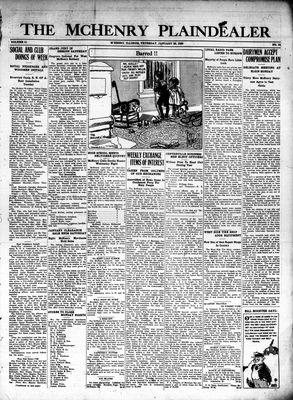 McHenry Plaindealer (McHenry, IL), 28 Jan 1926