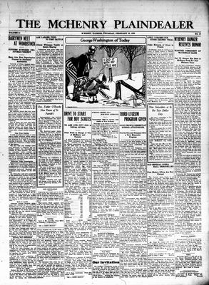 McHenry Plaindealer (McHenry, IL), 18 Feb 1926