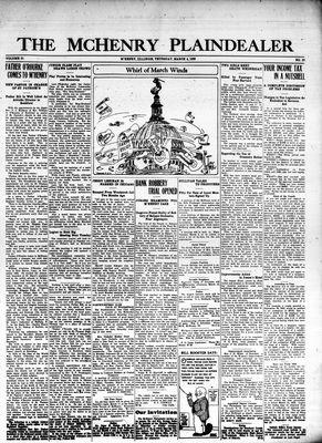 McHenry Plaindealer (McHenry, IL), 4 Mar 1926