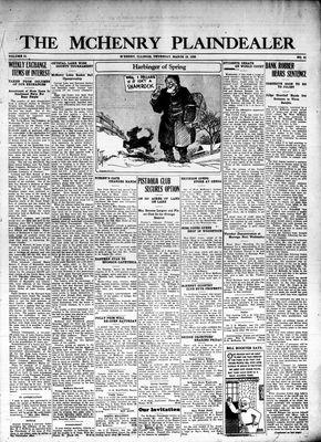 McHenry Plaindealer (McHenry, IL), 18 Mar 1926