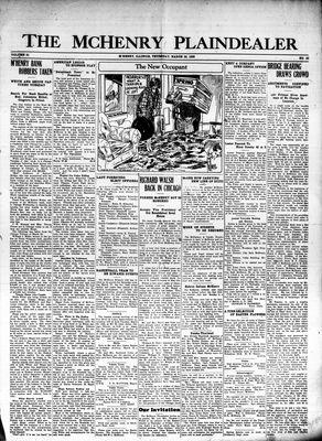 McHenry Plaindealer (McHenry, IL), 25 Mar 1926