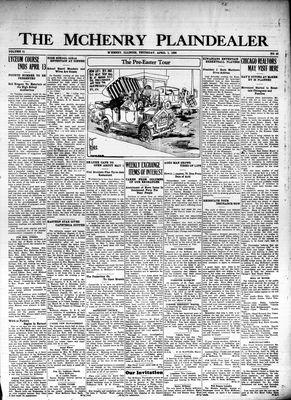McHenry Plaindealer (McHenry, IL), 1 Apr 1926