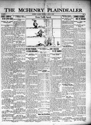 McHenry Plaindealer (McHenry, IL), 22 Apr 1926