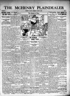 McHenry Plaindealer (McHenry, IL), 29 Apr 1926