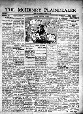 McHenry Plaindealer (McHenry, IL), 6 May 1926
