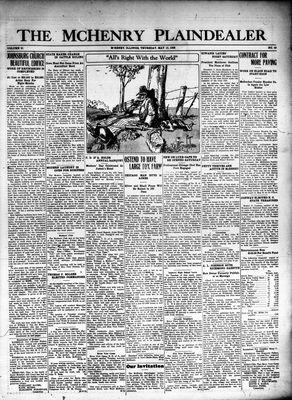 McHenry Plaindealer (McHenry, IL), 13 May 1926