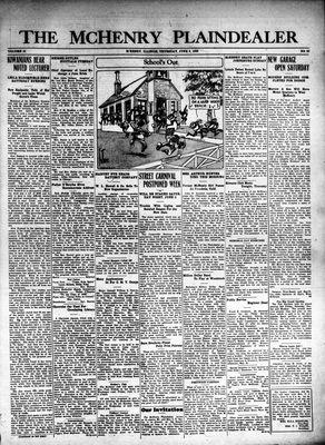 McHenry Plaindealer (McHenry, IL), 3 Jun 1926