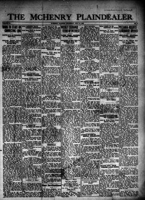 McHenry Plaindealer (McHenry, IL), 15 Jul 1926