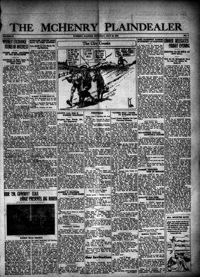 McHenry Plaindealer (McHenry, IL), 29 Jul 1926