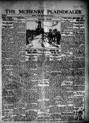 McHenry Plaindealer (McHenry, IL), 5 Aug 1926