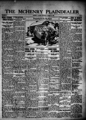 McHenry Plaindealer (McHenry, IL), 12 Aug 1926