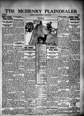 McHenry Plaindealer (McHenry, IL), 19 Aug 1926