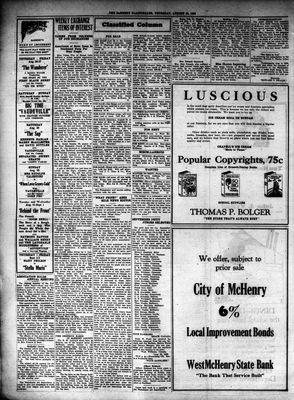McHenry Plaindealer (McHenry, IL), 26 Aug 1926