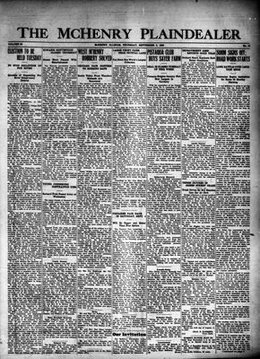 McHenry Plaindealer (McHenry, IL), 2 Sep 1926
