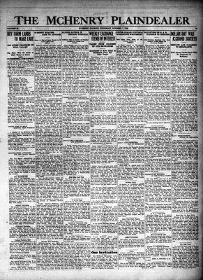 McHenry Plaindealer (McHenry, IL), 7 Oct 1926