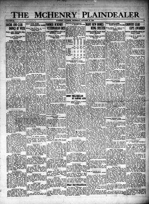McHenry Plaindealer (McHenry, IL), 21 Oct 1926