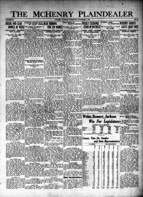 McHenry Plaindealer (McHenry, IL), 4 Nov 1926