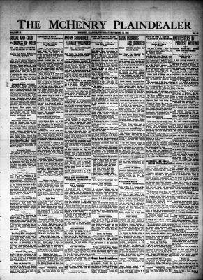 McHenry Plaindealer (McHenry, IL), 25 Nov 1926