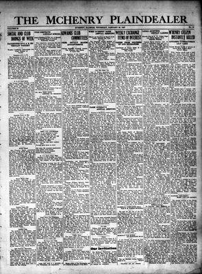 McHenry Plaindealer (McHenry, IL), 20 Jan 1927