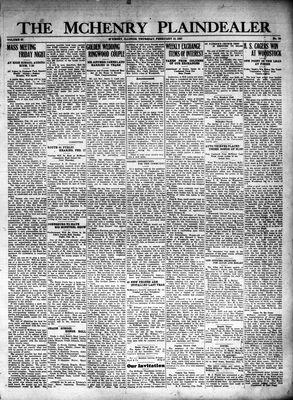 McHenry Plaindealer (McHenry, IL), 10 Feb 1927