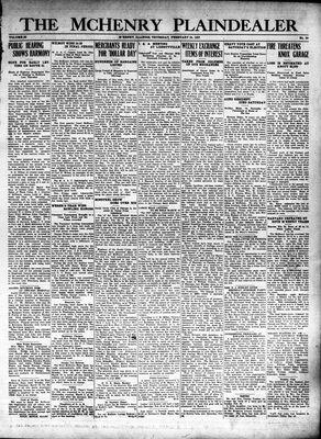 McHenry Plaindealer (McHenry, IL), 24 Feb 1927