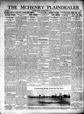 McHenry Plaindealer (McHenry, IL), 10 Mar 1927