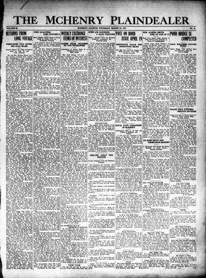 McHenry Plaindealer (McHenry, IL), 24 Mar 1927