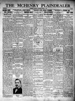 McHenry Plaindealer (McHenry, IL), 14 Apr 1927