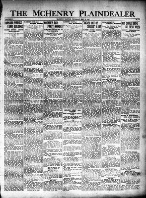 McHenry Plaindealer (McHenry, IL), 12 May 1927