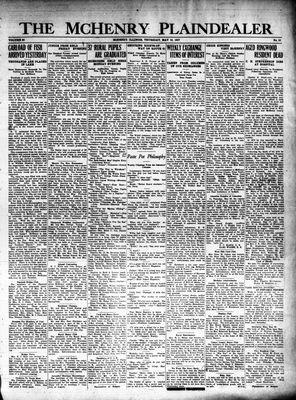 McHenry Plaindealer (McHenry, IL), 19 May 1927