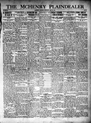 McHenry Plaindealer (McHenry, IL), 26 May 1927