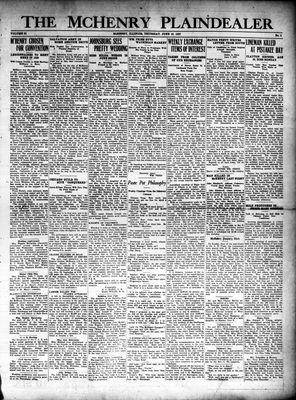 McHenry Plaindealer (McHenry, IL), 16 Jun 1927