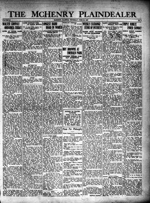 McHenry Plaindealer (McHenry, IL), 30 Jun 1927