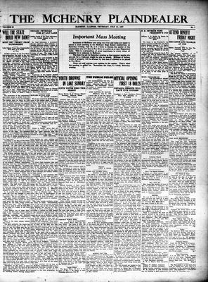 McHenry Plaindealer (McHenry, IL), 21 Jul 1927