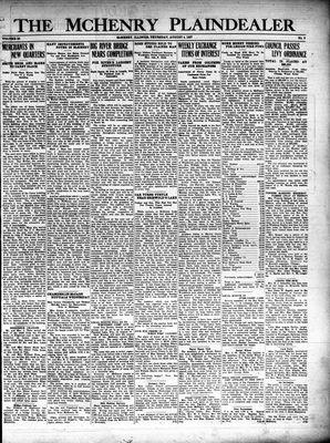 McHenry Plaindealer (McHenry, IL), 4 Aug 1927
