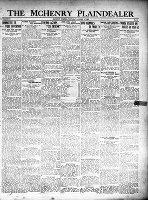 McHenry Plaindealer (McHenry, IL), 11 Aug 1927