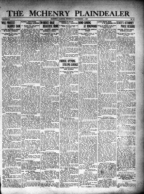 McHenry Plaindealer (McHenry, IL), 1 Sep 1927