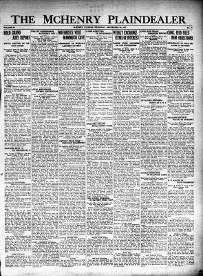 McHenry Plaindealer (McHenry, IL), 29 Sep 1927