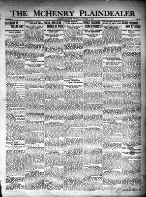McHenry Plaindealer (McHenry, IL), 13 Oct 1927