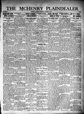 McHenry Plaindealer (McHenry, IL), 20 Oct 1927
